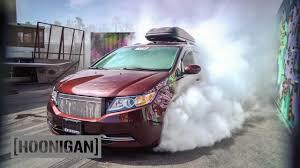 bisimoto odyssey hoonigan dt 052 1000hp minivan burnout bisimoto youtube