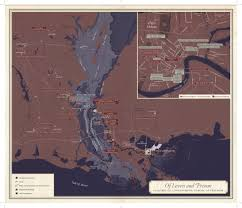 New Orleans Casinos Map by Mapping A Map The Evolution Of U201cunfathomable City U201d Nolavie