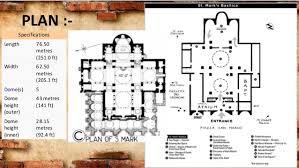 Gothic Architecture Floor Plan Byzantine And Gothic Architecture Aditya Barn1ar14002