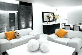 White Living Room Furniture Orange And White Living Room Curiousmind Club