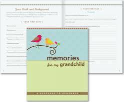 memories for my grandchild a keepsake to remember grandparent s