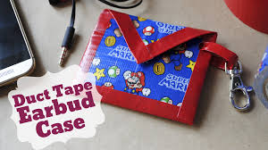 diy duct tape earbud case great gift for father u0027s day youtube