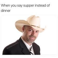Fedora Hat Meme - supper instead of dinner russian memes