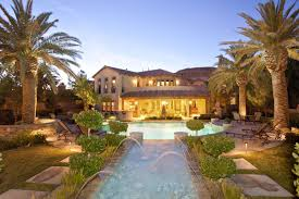 Villa Decoration by Home Design Amazing Villa Mansion Pools In Palm Citie Large Houses
