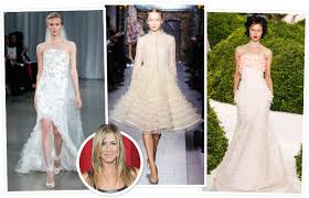 aniston wedding dress in just go with it aniston s wedding dress instyle s predictions instyle com