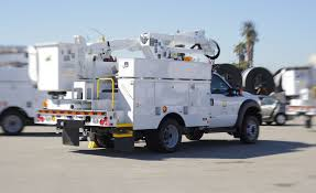 battery powered trucks a big lift for sce workers environment