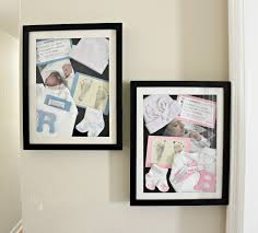 baby shadow box diy newborn shadow boxes a memorable diy the craft