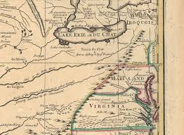 Louisiana Mississippi Map by 1720 U0027s Pennsylvania Maps