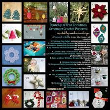 20 free crochet christmas ornament patterns