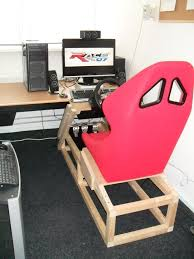 Armchair Racing Diy Seat Game Cockpit Pinterest Gaming And Sims