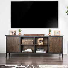 oak tv cabinets with glass doors tv stands u0026 entertainment centers shop the best deals for oct