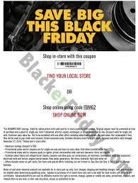 advance auto parts black friday 2017 sale flyer ad black