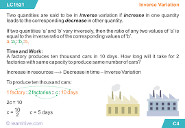learnhive icse grade 8 mathematics direct and inverse variation