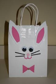 Easter Decorations For Office by Easter Bunny Bag Craft All Kids Network