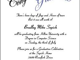 30 graduation invitations wording sles high school graduation