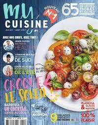 magazine de cuisine my cuisine n 1 du 29 juin 2017 à télécharger sur