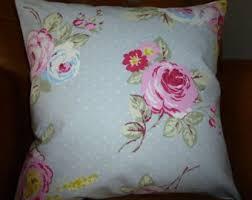 shabby chic cushion etsy