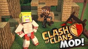 Clash Of Clans Maps Clash Of Mobs Mod For Minecraft 1 8 Minecraftsix