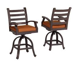 Wrought Iron Swivel Patio Chairs by Ideas Comfortable And Anti Scratch With Wrought Iron Bar Stools