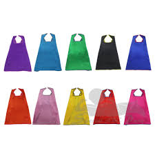 party packs 10pcs each pack blank trimmed assorted party capes
