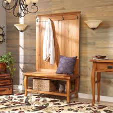 entryway coat rack and storage bench clean u2014 stabbedinback foyer