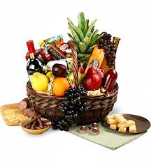gourmet fruit baskets executive wine fruit gourmet wine gift baskets extravagant