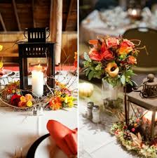 13 unique ways to decorate with lanterns at your fall wedding