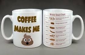 Coffee Cup Meme - bristol stool chart poop emoji internet meme coffee mug funny tea