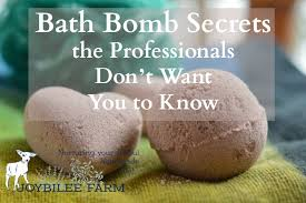bath bomb secrets the professionals don t want you to