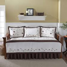 daybed bedding set intrigue chenille flounce whomestudio com