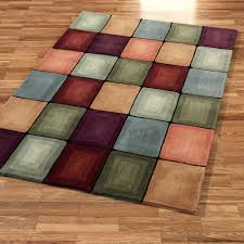 5 Foot Square Rug Decor Adds Texture To Floor With Contemporary Area Rugs
