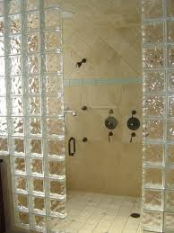bathroom shower tile ideas eased edge brown varnishes teak wood