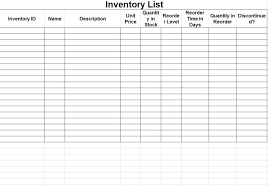 Simple Inventory Sheet Template Inventory Sheet Template Inventory Sheets Template