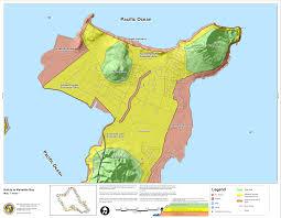 Map Of Hawaii Big Island Hawaii State Tsunami Evacuation Maps