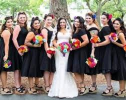 black bridesmaid dresses pin up wedding dress etsy
