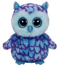 ty beanie boo oscar blue purple owl joann