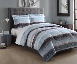Comforter Essential Home Hayden Stripe Microfiber Comforter Set Home Bed