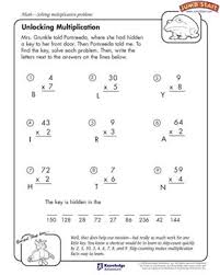 unlocking multiplication u2013 multiplication problems and worksheets