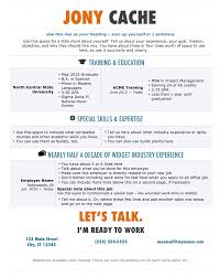 Examples Of Free Resumes cool free resume templates