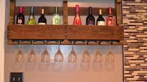 pallet wine rack mounting youtube