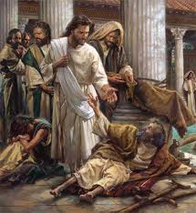 The Story Of The Blind Man In The Bible 122 Best Christian Art Images On Pinterest Jesus Christ
