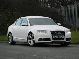 cheap audi a6 for sale uk used audi a6 2010 diesel 2 0 tdie s line saloon white edition for