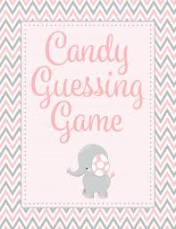 baby shower guessing candy guess baby shower elephant baby shower theme for baby
