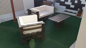 Outdoor Sofa Sets by Pallet Wood Made Outdoor Sofa Set Pallet Ideas Recycled