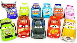 new disney cars 3 piston cup racers desert race 11 pack lightning