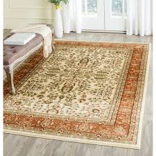 orange rugs you u0027ll love wayfair