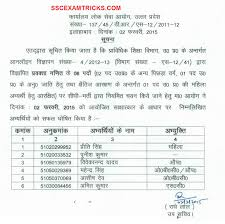 uppsc interview result released appointment letter joining