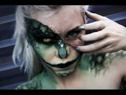 the lizard halloween makeup time lapse youtube special