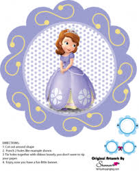 banner 3 sofia the first party decorations free printable