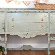 chalk painted sideboard salvaged inspirations